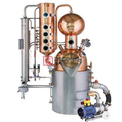 500L Kupfer Alkohol Stills Brennerei Maschine Home Destillationsanlagen Brausystem China