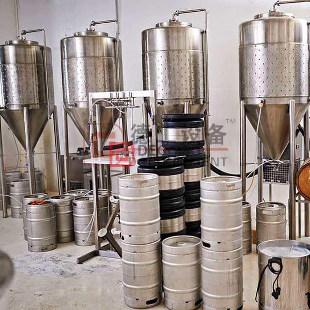 300L Craft Beer Brewing Equipment Bierherstellungsmaschinen für die Mikrobrauerei Hot Sale