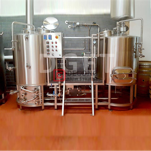 500L anpassbare Craft Beer Brewing Equipment Restaurant Gebraucht Edelstahl Bier Brewhouse